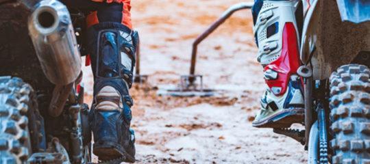 Bottes pour quad et motocross